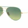 Ray-Ban RB3025JM 001/3M Green Gradient Green