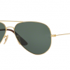 Ray Ban Aviator RB3558 001/71 G-15 Gold frame