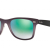Ray Ban RB2140F 11994J Green Mirror Gradient