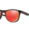 Oakley OO9340-02 POLISHED BLACK Ruby Iridium