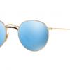 Ray Ban ROUND METAL RB3447N 001/9O Gold Blue Mirror