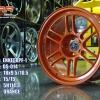 ล้อใหม่ ENKEI RPF1 ขอบ18 สีส้มวงละ 2900 ปกติ 6000