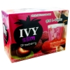 IVY Slim Strawberry ไอวี่ สลิม รสสตรอเบอรี่ 10 ซอง สีแดง