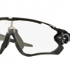 OAKLEY OO9290-14 JAWBREAKER POLISHED BLACK Clear To Back Photochromic
