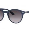 Ray Ban RB4296 63318G LITEFORCE MATTE DARK BLUE Grey Mirror Silver Gradient