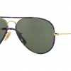 Ray-Ban RB3025JM 172 Aviator colorfull Black Multi Gold
