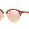 Ray Ban RB4246 12187O LIGHT BRONZE Gradient Brown Mirror Pink