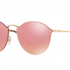 Ray-Ban RB3574N 001/E4 Blaze Round Pink mirror (New Arrival)