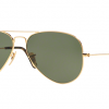 Ray Ban Aviator RB3025 181 Gold Green G-15