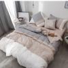 ผ้าปูที่นอนสีพื้น ไล่ระดับเฉดสี โทนสีเทา