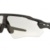 Oakley OO9208-13 RADAR EV PATH STEEL Clear To Black Photochromic