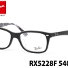 Ray Ban RX5228F 5405 Matte Black On Texture