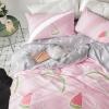 ผ้าปูที่นอน ลายแตงโม แครอท Bedding