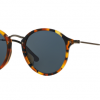Ray Ban RB2447F 1158R5 SPOTTED BLUE HAVANA Grey