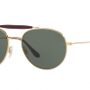 Ray Ban RB3540 001 GOLD Green