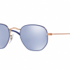Ray Ban RJ9541SN 264/1U COPPER TOP BLUE Blue Flash Silver