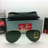 Ray Ban RB3025 w3234 Aviator 55mm Gold frame G-15 lenses