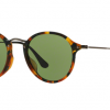 Ray Ban RB2447F 11594E SPOTTED GREEN HAVANA Green