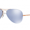 Ray Ban Aviator RB3449 90351U Copper Blue Mirror