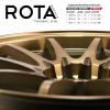 ล้อใหม่ CE28 ROTA แท้ขอบ18 ชุด9800 ปกติ 28000