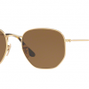 Ray Ban RB3548N 001/57 GOLD Polarized Brown