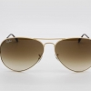 Ray Ban RB3025 001/51 Aviator Brown Gradient Gold Frame