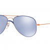 Ray Ban RJ9506S 264/1U COPPER TOP ON BLUE Blue Flash Silver