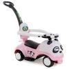 รถขาไถแพนด้า 2 in1 (รถขาไถ +รถเข็น) สีชมพูอ่อน ฟรีค่าจัดส่ง