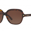 COACH HC8192F 5394T5 DARK TORT/DARK TORT GOLD SIG C Brown Gradient Polarized