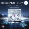Ice sleeping cream ครีมน้ำแข็ง ไอซ์ สลีฟปิ้ง ครีม (ครีมบำรุงกลางคืน) 15 กรัม