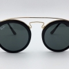 RAY-BAN ROUND RB4256 601/71 BLACK GOLD FRAME Classic