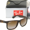 Ray-Ban RB4165 865/T5 Justin Havana Brown Gradient Polarized