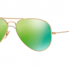 Ray Ban RB3025 112/P9 Aviator Green Mirror Polarized