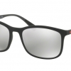 PRADA PS 01TSF DG02B0 Black Rubber