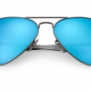 Ray-Ban RB8317CH 029/A1 Carbon Fibre Mirror Chromance Polarized
