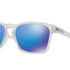 Oakley OO9358-04 MATTE CLEAR Sapphire Iridium