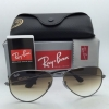 Ray Ban RB3025 004/51 Aviator Gunmetal Brown Gradient 58mm / 62mm