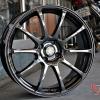 ล้อใหม่ ADVAN RS ขอบ 17 สีแบล็คโครม วง2750 ปกติ5000