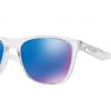 Oakley OO9340 934005 POLISHED CLEAR Sapphire Iridium Polarized