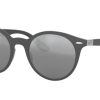 Ray Ban RB4296 633288 LITEFORCE MATTE DARK GREY Grey Mirror Silver Gradient