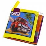 หนังสือผ้าเรียนรู้ยานพาหนะ CAR