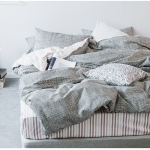 ผ้าปูที่นอน ลายทางตาราง multivariate
