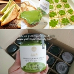 แยมชาเขียว O'Sulloc Green Tea Milk Spread จากเกาหลี 200กรัม กระปุกละ 490 บาท พร้อมส่งคะ