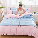 ผ้าปูที่นอน สไตล์เกาหลีวินเทจ Vintage Bedding มีระบาย
