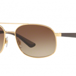 Ray Ban RB3593 001/13 GOLD Brown Gradient