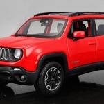 พรีออเดอร์ โมเดลรถเหล็ก โมเดลรถยนต์ Jeep Renegade แดง 1:24 มี โปรโมชั่น