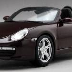 Pre Order โมเดลรถ Porsche 987 Boxster แดงองุ่น เปิดประทุน 1:18 รุ่นหายากสุดๆ มีโปรโมชั่น