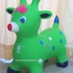 ตุ๊กตายางรูปสัตว์เด้งดึ๋ง รูปแกะเขียว