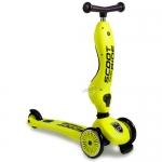 สกู๊ตเตอร์+จักรยานทรงตัว สีเหลืองแกมเขียว (Scooter+Balance Bike) ฟรีค่าจัดส่ง