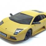 ขาย พรีออเดอร์ โมเดลรถเหล็ก โมเดลรถยนต์ Lamborghini Murcielago เหลืองด้าน 1:24 มี โปรโมชั่น